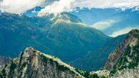 view from Vesper Peak in Washington