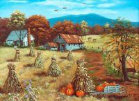 Autumn Painting by Arie Rheinhardt Taylor