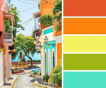 More Colourful Buildings
