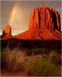 Monument Valley Rainbow...
