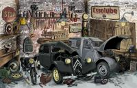 Traction Avant and 2CV