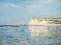 Claude Monet - Low Tide at Pourville, near Dieppe, 1882 - (Apr17P18)
