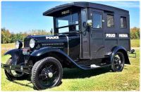1930 Ford Model A Police Paddy Wagon