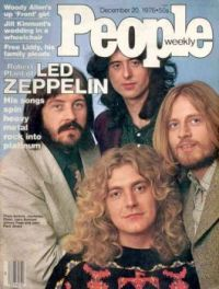 Led Zeppelin on people weekly magazine