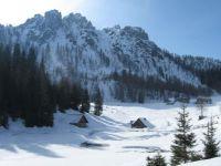 Mountains around Monte Lussari, Friuli, Italy
