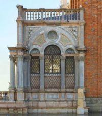 Marbled facade Venice