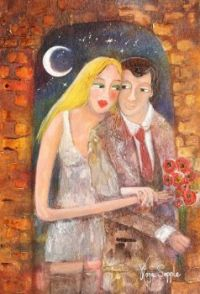 Rosa Sepple Artwork  -  'Under the Moon and the Stars'