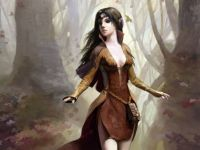 Beautiful Forest Elf