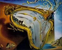Salvador Dali. Melting Watch