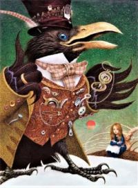 The Snow Queen - Crow:  Fairy Tale by Hans Christian Andersen