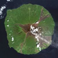 As Seen From Space: Madang Province Papua New Guinea  – Manam Volcano