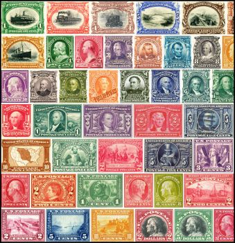 U.S. Stamps 1900-1920