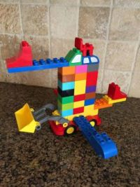 lego flying rock mover