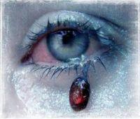 Lagrima de sangre
