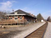 old rail depot pamplin city, va.