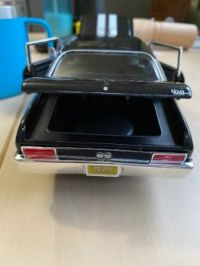 1970 Chevy Nova S/S Trunk Open