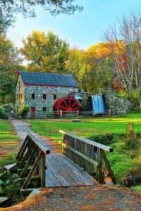Wayside Inn Grist Mill, Sadbury, Massachusetts