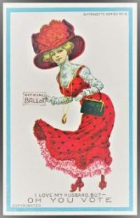 Themes Vintage illustrations/pictures - Suffragette poster