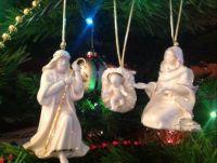 Nativity on tree