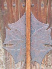Detail mid door