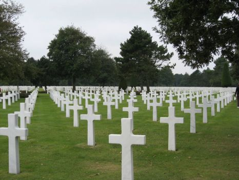 American Cemetery, Normandy, France.
