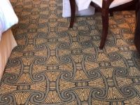 Dining room floor @ Art Deco Hotel