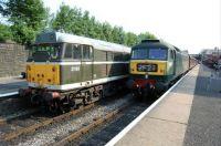 31190 & 47402 at Bury Bolton Street