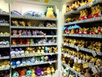 Pokemon Center Plushies