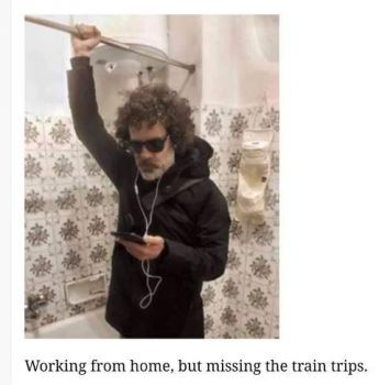 Missing the train . . .