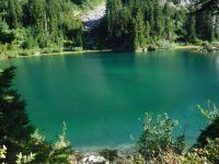 Snow Lake, Mt. Rainier National Park, Washington state, USA