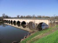 Canal aqueduct. France