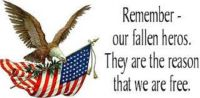 Remember - Our fallen heros.