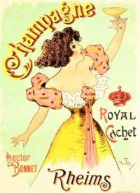Themes Vintage ads - Champagne Rheims
