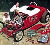 old time hot rod