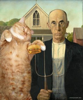 I Can Has American Gothic Cheezburger??