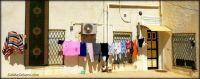 Busy laundry day, Tunisia