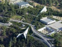 Israel From The Air. Jerusalem. Yad Vashem - The World Holocaust Remembrance Center.