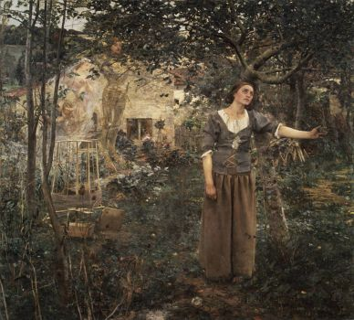 Joan of Arc by Jules Bastien-Lepage, 1897