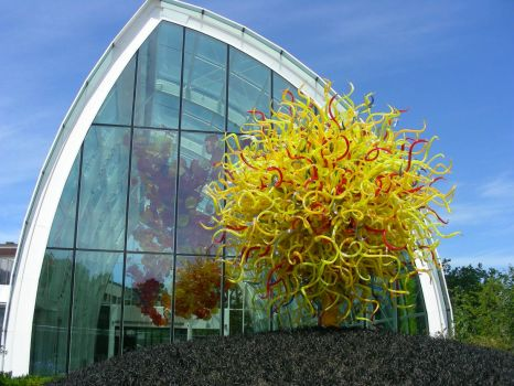 Chihuly Museum -- from the outside