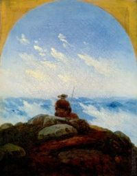 Wanderer on the Mountaintop, Carl Gustav Carus, 1818