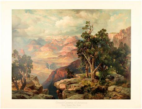 Grand Canyon of Arizona on the Santa Fe