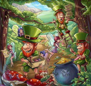 Leprechaun's Fairy Shoe Sale - 342