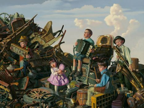 Junk Yard Band by Bob Byerley