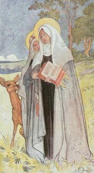 "Carl Larsson, ""Birgitta, The Saint"""