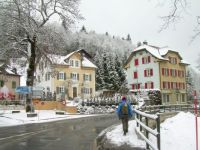 Winter, Sentier, Le Chenit, Switzerland