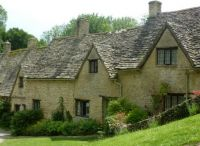 Houses in the Cotswolds, UK