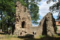 "Ruin Castle ""Osterlant"", near Oschatz/Saxony, Germany"