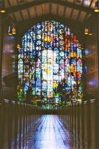 STAINED GLASS WINDOWS  - 2 OF 3