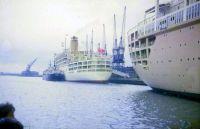 Himalaya and Oriana at Southampton (between 1960-1964)