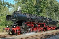 Steam locomotive from East Germany 1988